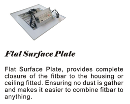 fitbar flat surface plate